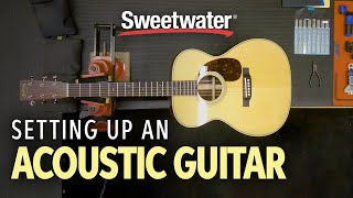 Acoustic Guitar Setup – How to Set up an Acoustic Guitar 🎸 | Guitar Lesson