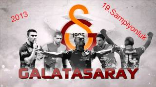 Yeni Galatasaray Şampiyonluk Marşı 2013 - ASLOLAN GALATASARAY [HD]
