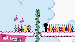 Pikmin... in Super Mario Bros 2! (Day 3)