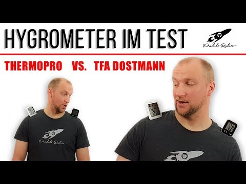 Hygrometer Test ► TFA Dostmann vs. ThermoPro ✅ TOP Thermo-Hygrometer im Duell | produktrakete.de