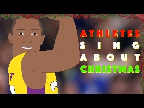 Athletes sing 12 Days of Christmas!