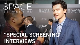 The Space Between Us  Screening Interviews Manny On The Streets  In Theaters February 3 2017