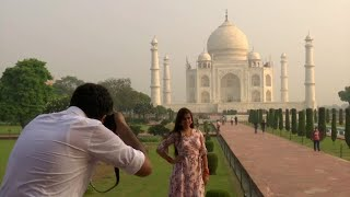 Watch: Taj Mahal reopens to visitors after six months