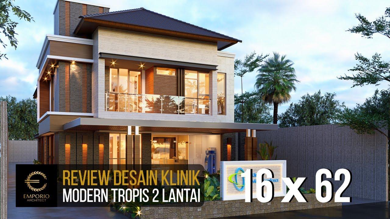 Video 3D Mitra Santosa Clinic Modern 2 Floors Design - Bandung, Jawa Barat
