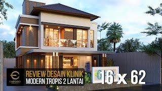 Video Desain Klinik Mitra Santosa Modern 2 Lantai di  Bandung, Jawa Barat