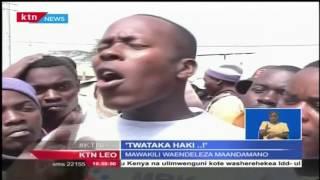 Kituo cha polisi walikokuwa wamefungiwa marehemu Willie Kimani na wenzake kiliteketezwa