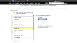 How to Delete Linkedin Connection