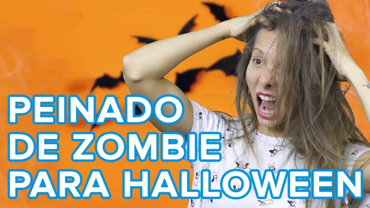 Cómo hacer un peinado de zombi para el disfraz de Halloween de los niños