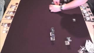 Star Wars X-Wing: Miniaturenspiel - Fabi vs. Daniel