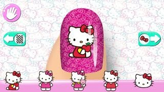 Hello Kitty Nail Salon - Best App For Kids