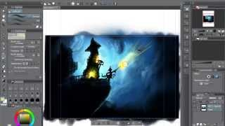 Painting Lesson in Manga Studio - Full Professional Lesson