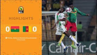 CHAN 2020 | 1er tour – Groupe A : Burkina Faso 0-0 Cameroun