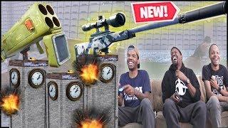 NEW Silenced Bolt Tower Takedown Game Mode! - Fortnite Season 7 Gameplay