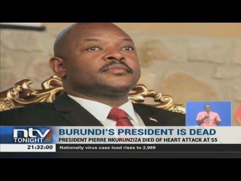 President Uhuru mourns death of Burundi's President Nkurunzinza