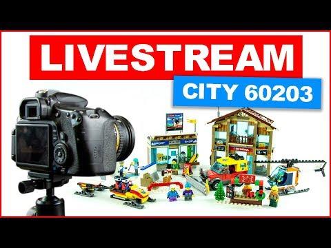 LEGO CITY 60203 Ski Resort - Making of Speed Build