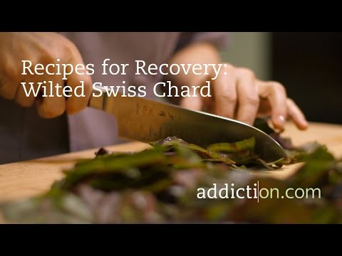 Recipes for Recovery: Wilted Swiss Chard