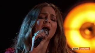 Alisan Porter tribute - 'Down That Road' to The Voice