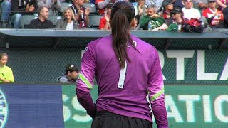 HIGHLIGHTS: Hope Solo Shines Against Portland