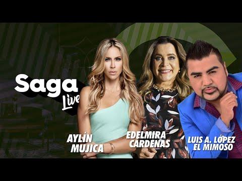Aylín Mujica, Edelmira Cardenas y Luis Antonio López