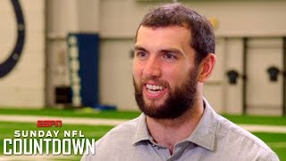Colts QB Andrew Luck breaks down his cadences, why he started a book club | NFL Countdown