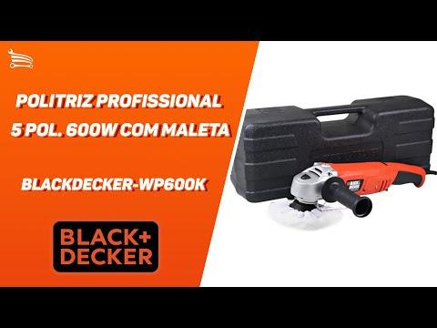 Politriz Profissional 5 Pol. 600W  com Maleta - Video