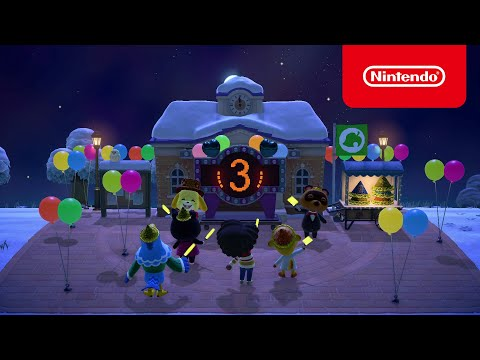 Quoi de neuf en décembre ? de Animal Crossing : New Horizons
