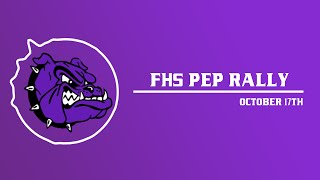 FHS October Pep Rally l 2019