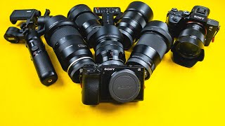 SONY A6400 Lens Update: TOP Lenses for Sony A6400 Photography & Video + [1st Look Sony FE 35mm f1.8]