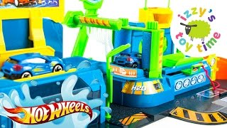 Cars for Kids   Hot Wheels Fast Lane Color Change Car Wash Playset   Fun Toy Cars for Kids