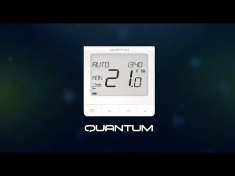 Проводной терморегулятор SALUS Quantum SQ610 Video #1