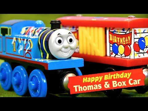 Happy Birthday Thomas & Box Car 2-Pack Review | Thomas Wooden Railway Discussion #96