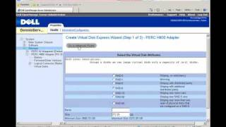 Configuration of Dell PowerVault MD1220 and MD1200 using OpenManage