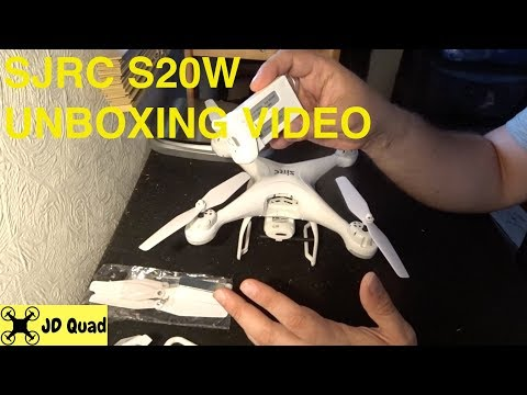 SJRC S20W Unboxing Video - Courtesy of Banggood