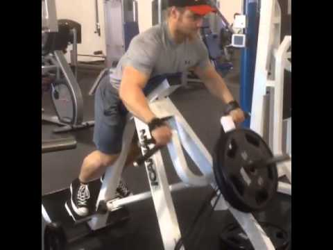 Banded t-bar rows