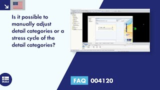 FAQ 004120 | Is it possible to manually adjust the categories of events or the stress cycle of th...