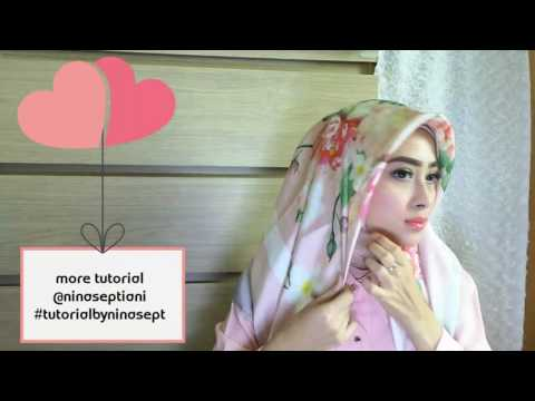 Video #3 Square Satin Scarf Tutorial by Ninasept