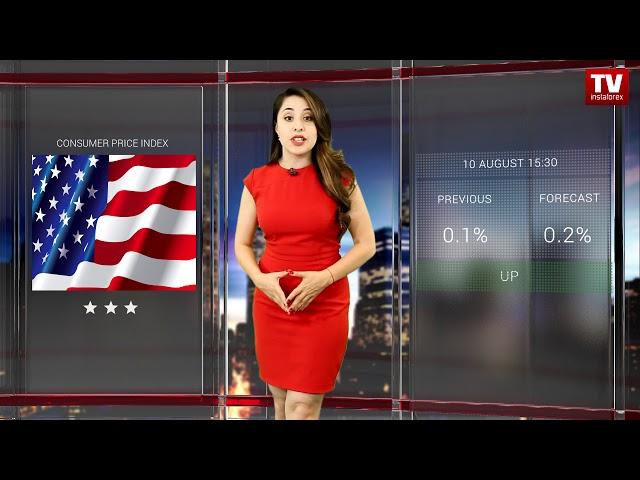 InstaForex tv calendar. Trader's calendar August 9 - 10