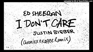 Ed Sheeran & Justin Bieber Ft Koffee & Chronixx   I Don't Care Remix