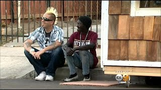 South LA Man Gives Homeless Woman New Lease On Life By Building Her Small, Portable House