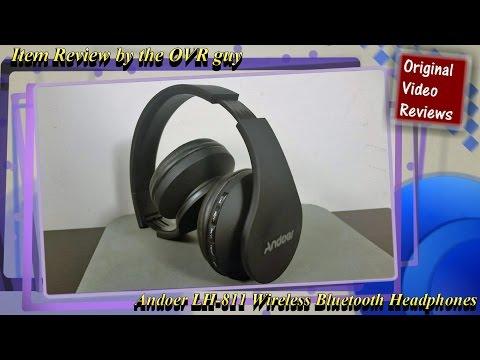 Item review - Andoer LH-811 Wireless Bluetooth Headphones