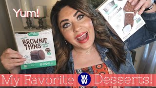 MY FAVORITE WW DESSERTS!! | CLEAN EATING-ISH | MYWW | WEIGHT WATCHERS!!