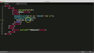 Javascript Reload Page & setTimeout: Bob The Webpage