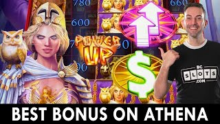 BEST ATHENA BONUS 👩 Doubling Up with this Greek Goddess