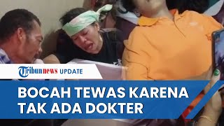 Korban Tenggelam di Riau Tak Tertolong seusai Menunggu 1,5 Jam di Puskesmas dan Tak Ada Dokter Jaga