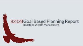 Goal Based Planning Report | Redstone Wealth Management