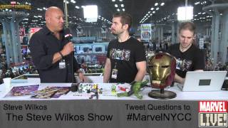 Steve Wilkos Talks His Show and Captain America on Marvel LIVE! at NYCC 2014