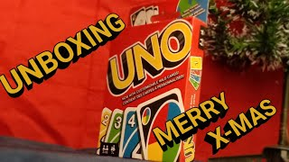 Unboxing UNO Cards!