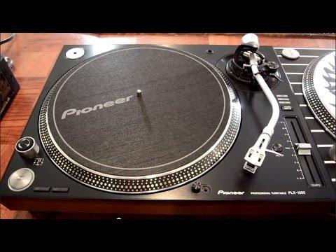 Pioneer PLX-1000 DJ Turntable Review & Super-OEM Comparison Video
