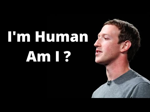 Zuckerberg insists he is human