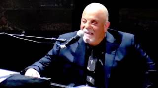Billy Joel in a New York State Of Mind at MSG Oct 27, 2018